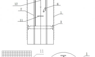 明挖法:超深大直径钢管立柱桩施工技术